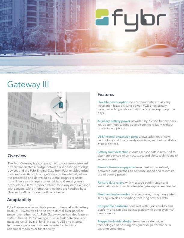 Fybr Gateway III